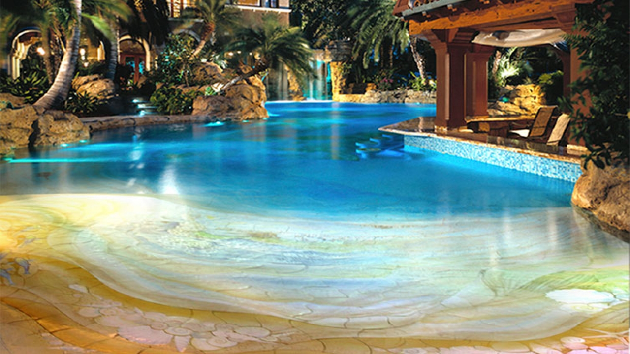 Beach Entry Swimming Pool Designs Japanese Swimming Pool