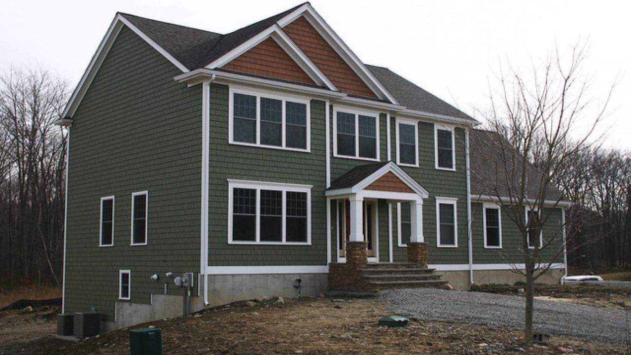 Beautiful two story house two story craftsman house colors for Exterior 2 story homes