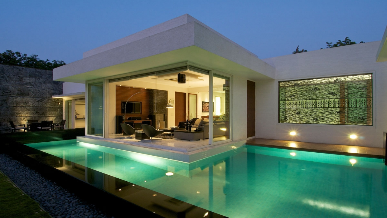 Bungalow houses in india urban houses in india simple for Bungalow floor plans india