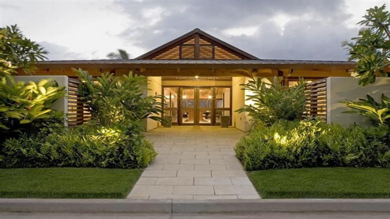 Hawaiian plantation style home plan hawaiian plantation for Hawaii house plans