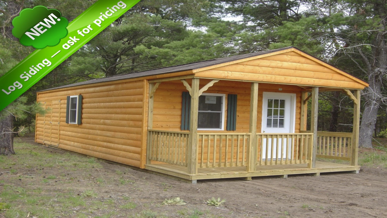 Portable sheds and cabins country cabin storage sheds for Small portable shed