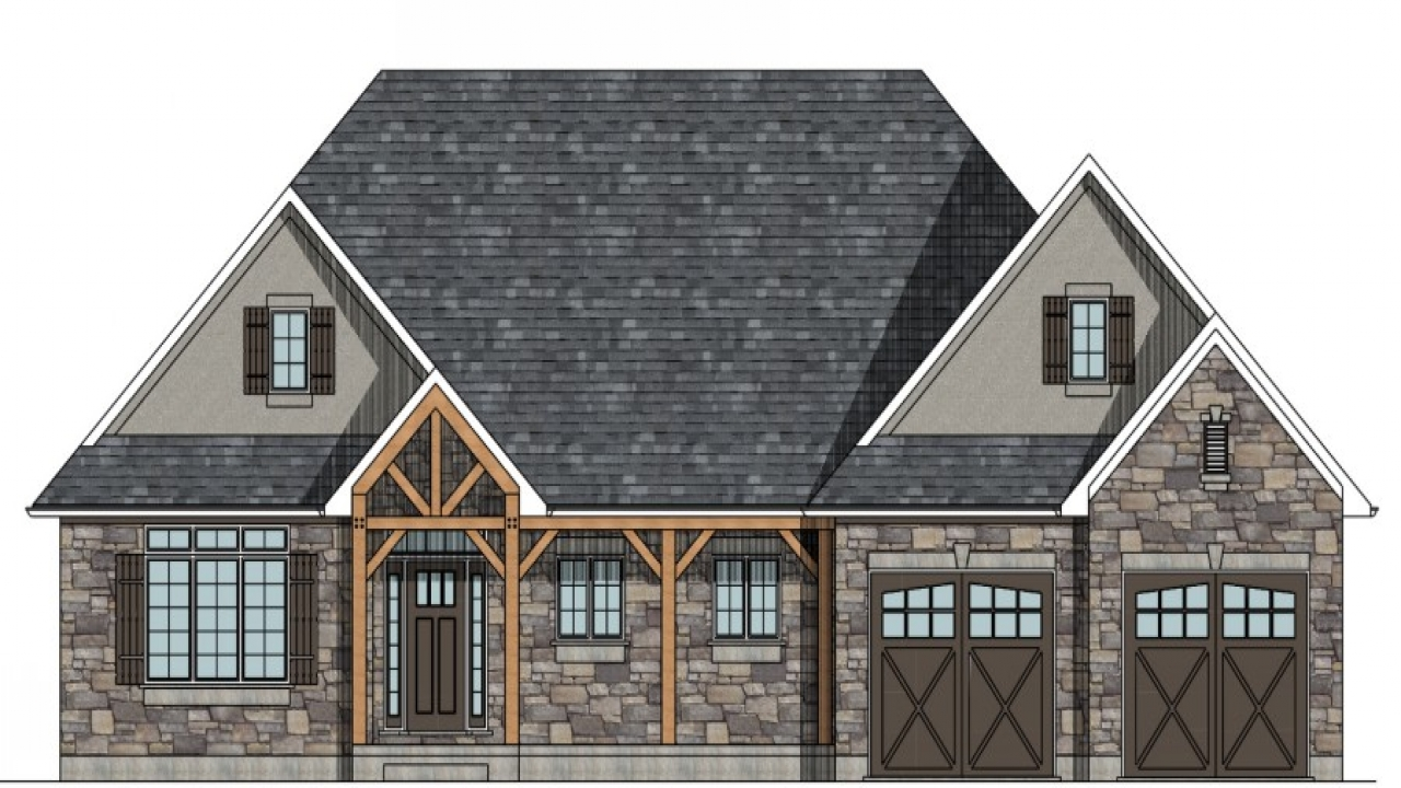Raised bungalow house plans canada raised bungalow house for Raised cottage house plans