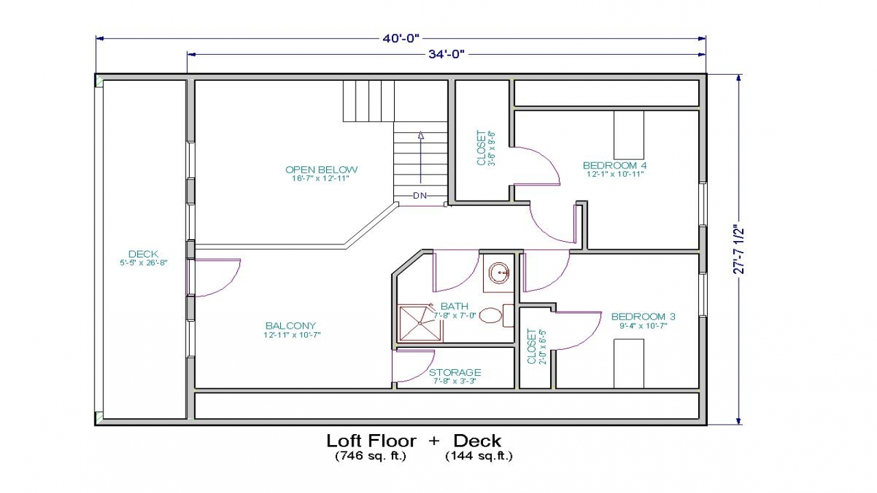 small house floor plans with loft small cottage house