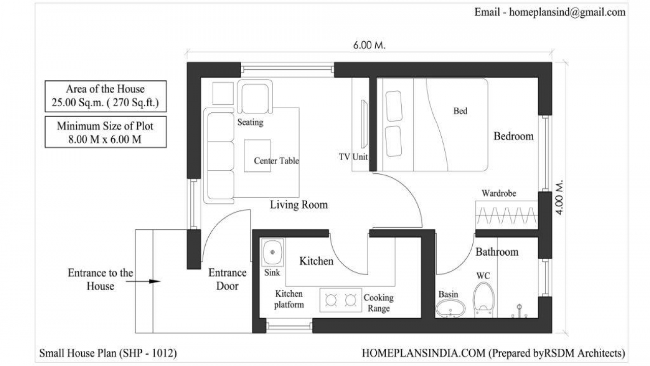 Small house plans free download free small house plans for 720 sq ft house design in india