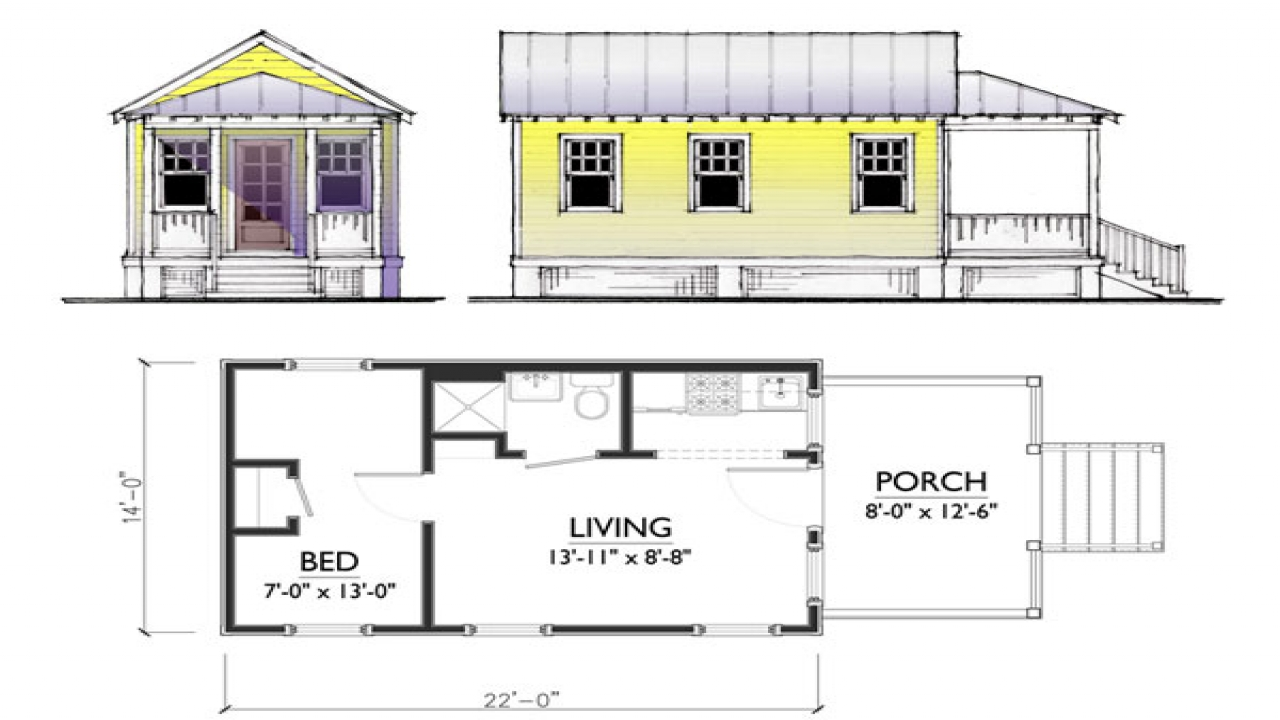Tiny House Layouts Small Tiny House Plans House Cottage