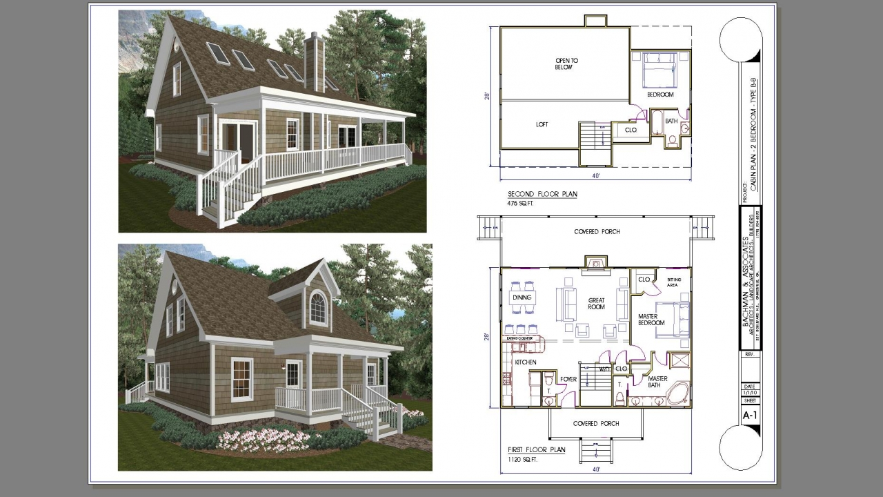 Tiny house plans 2 bedroom 2 bedroom cabin plans with loft for Lodge plans with 8 bedrooms
