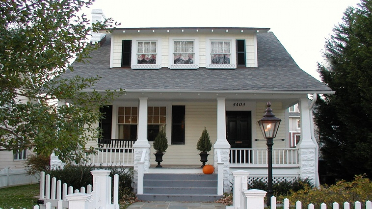 American Bungalow Style Homes Colonial Style Homes
