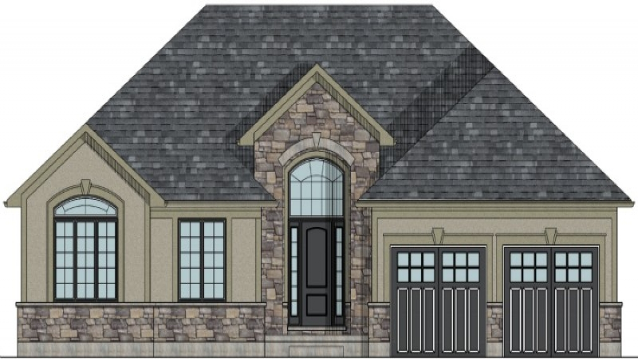 Bungalow house plans canada 3 bedroom house plans house for Rancher house plans canada