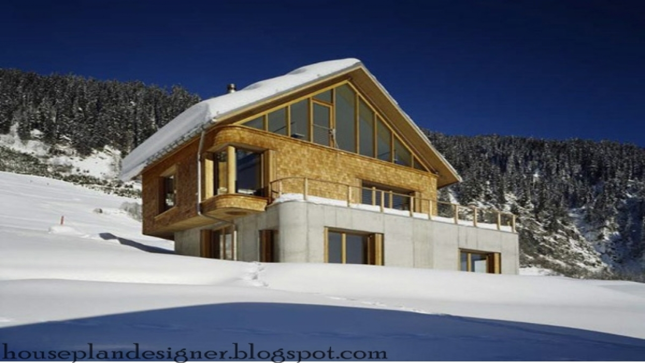 Chalet home plan mountain cabin mountain lodge house plans for Ski lodge house plans