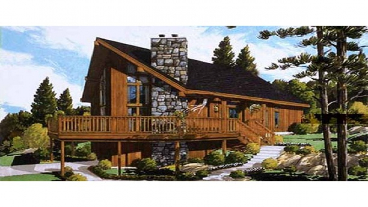 Ranch Chalet Home Plans on