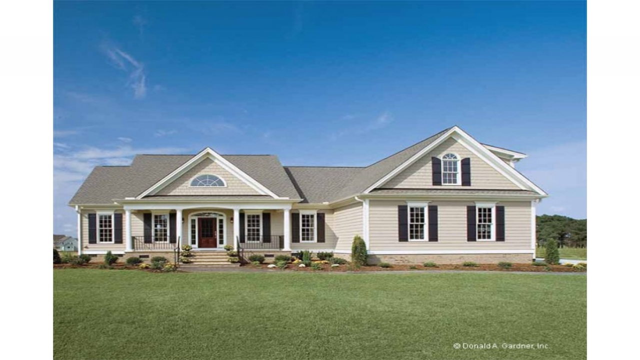 Country house plans one story homes country house plans for Two story country house plans