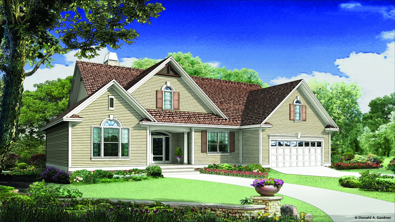 Donald gardner house plans don gardner chesnee house plan Gardner house plans with photos
