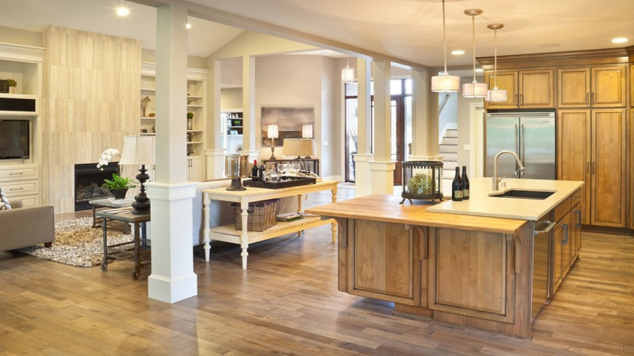 House Plans With Large Open Kitchens House Plans With Open