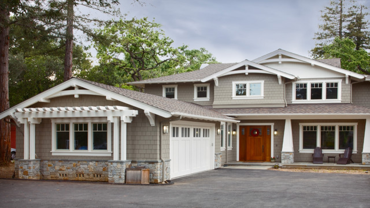 New craftsman bungalow style homes new craftsman style for New construction ranch homes