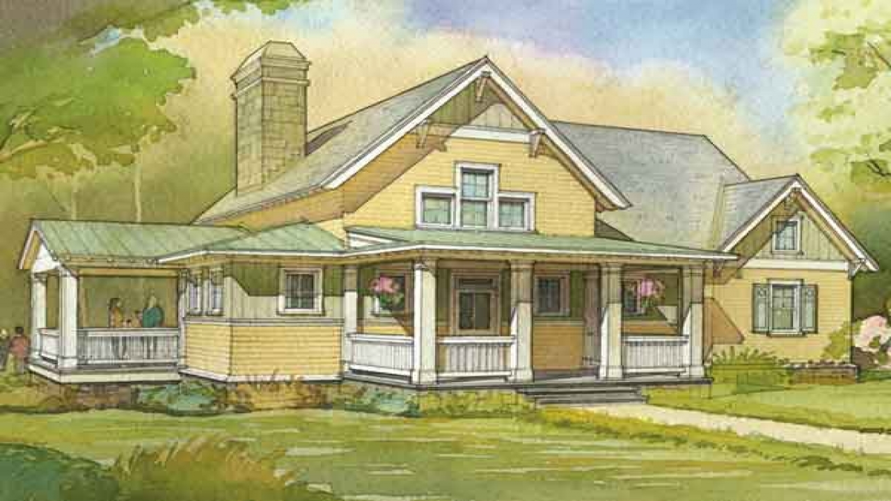 Small house plans southern living southern living cottage for Southern cottage house plans with photos
