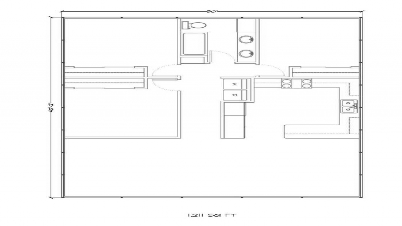 Steel building homes floor plans metal home floor plans for Steel building plans