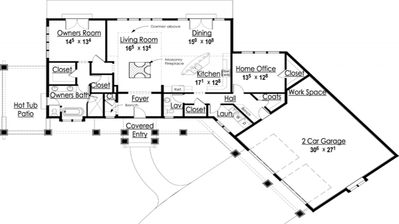 Award winning house plans award winning open floor plans for Award winning ranch house plans