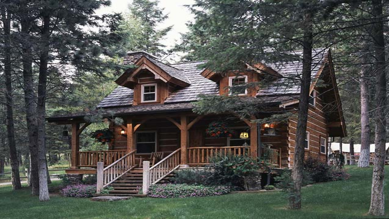 Best small log cabin plans jack hanna log cabin log for Best log home designs