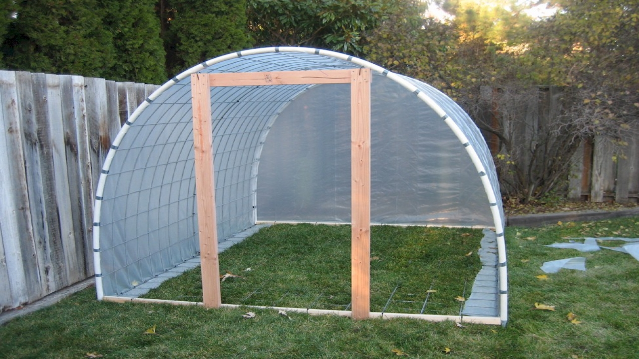 How To Build A Greenhouse Door