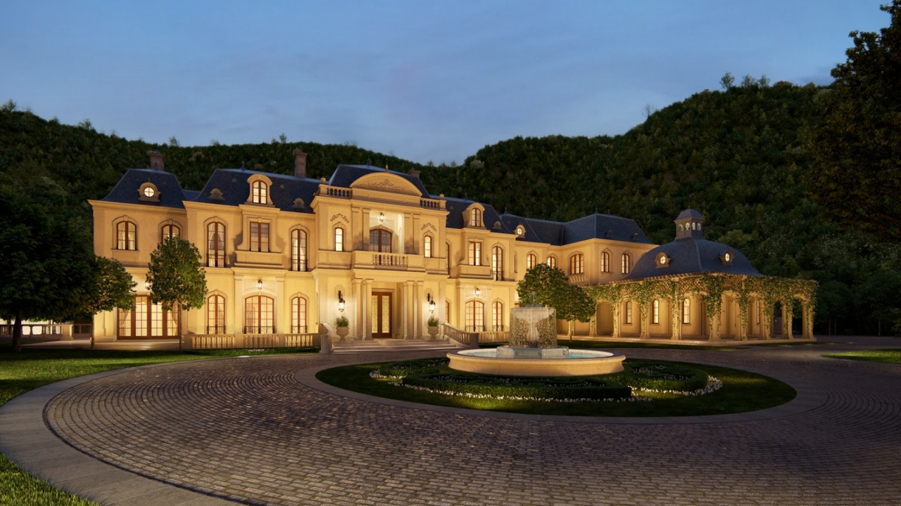 Mark wahlberg house beverly park mark wahlberg house for 30000 square foot house plans