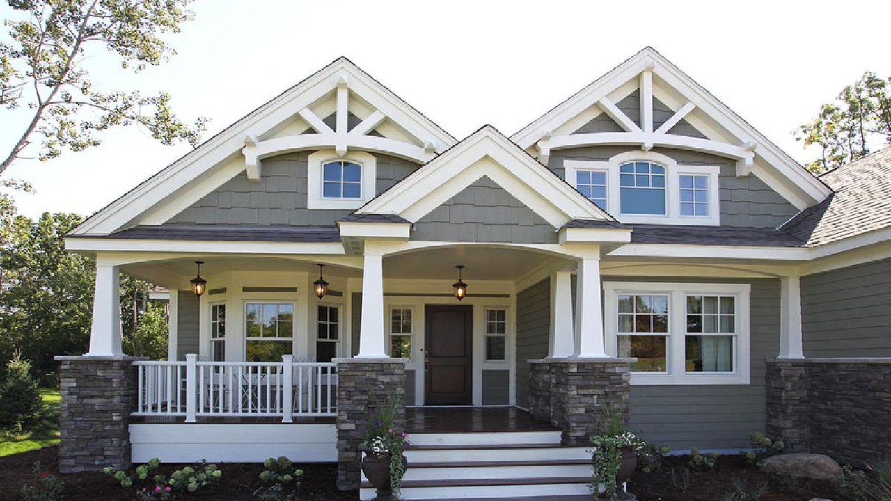 Single story craftsman house plans home style craftsman - What is a craftsman home ...