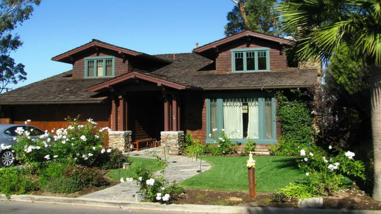 Single story craftsman style homes craftsman style home for Single story craftsman homes