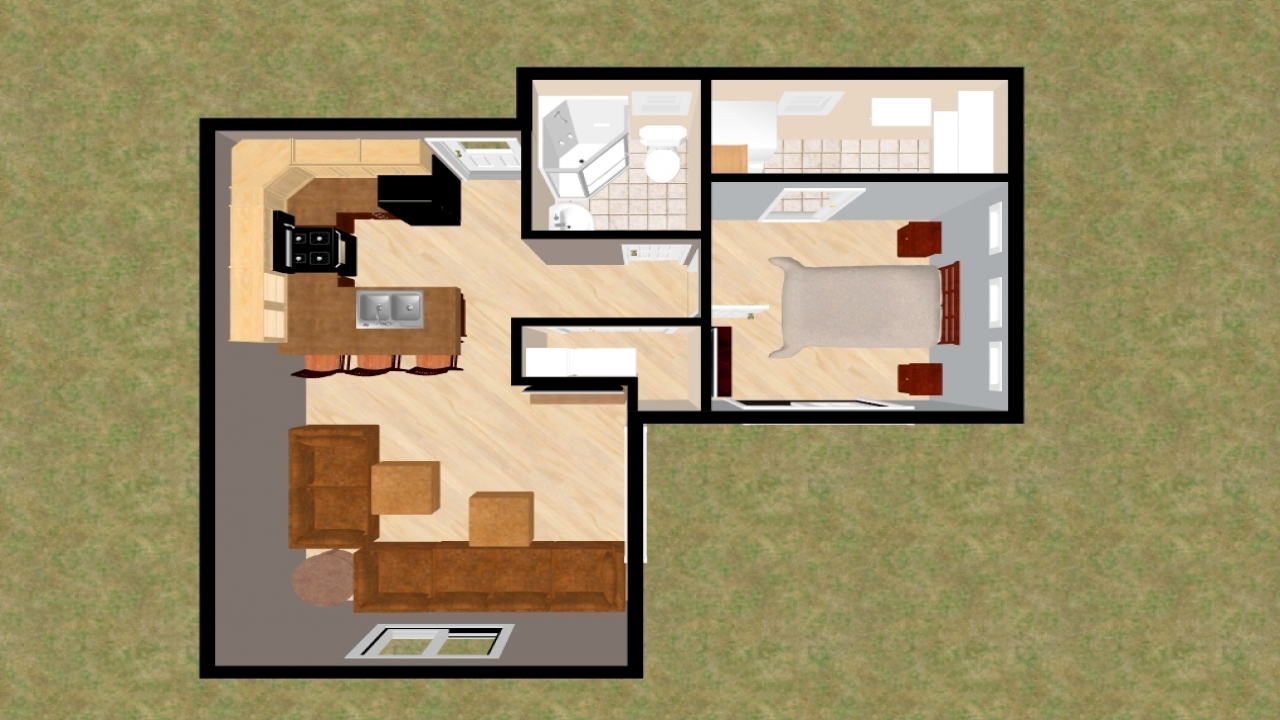Small house plans under 500 sq ft small house plans under for Tiny house plans under 500 sq ft
