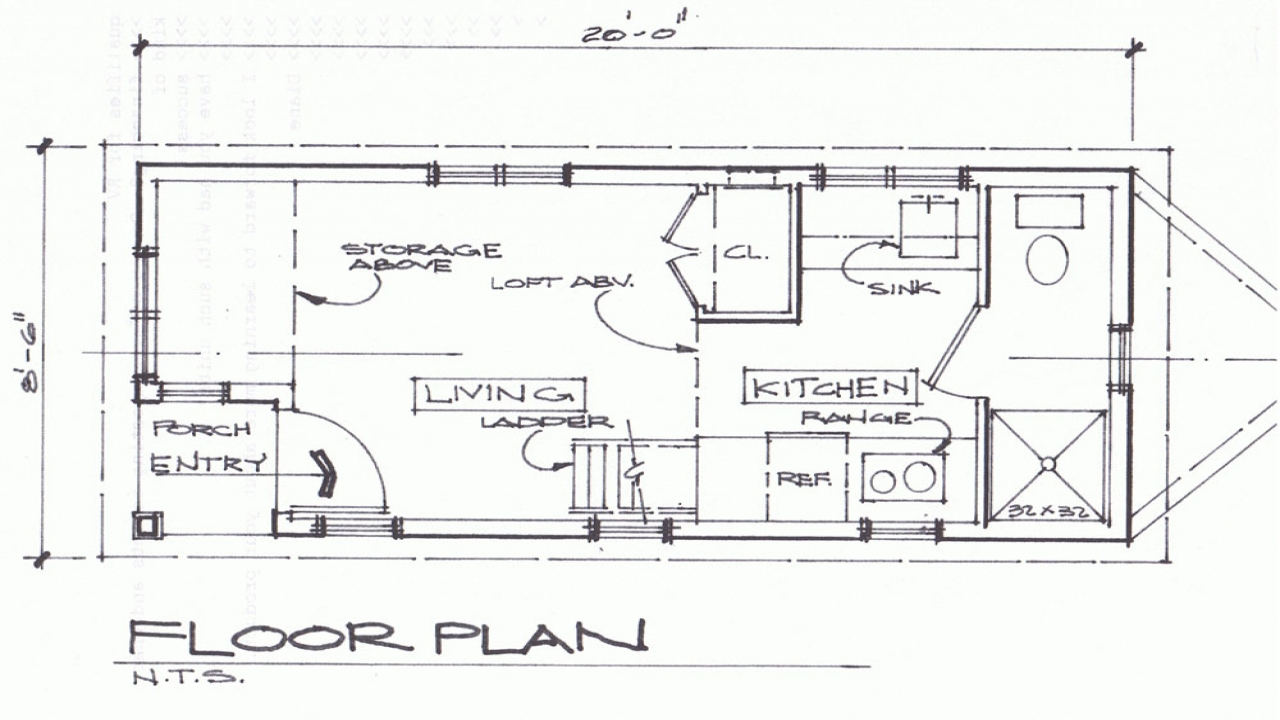 Texas tiny house cottages cottage tiny house floor plans for Tiny texas houses plans