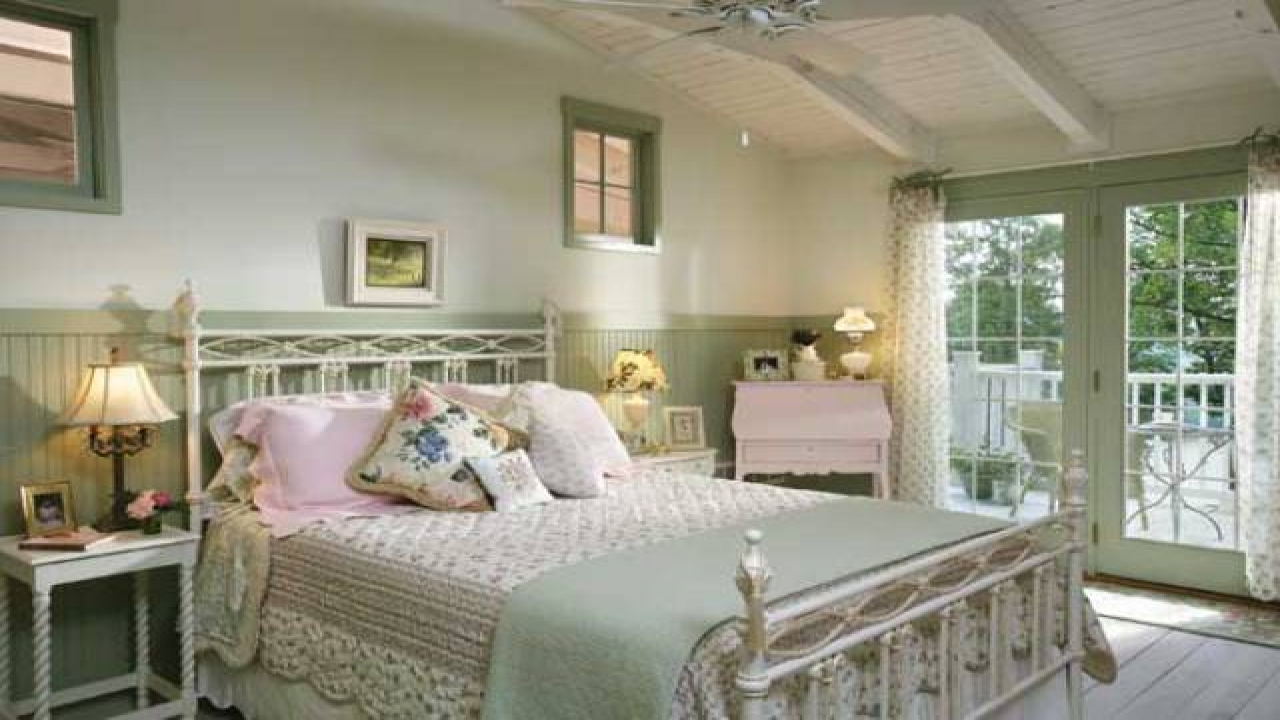 Country Chic Bedroom Decorating Ideas: Vintage Shabby Chic Bedroom Ideas Shabby Chic Country