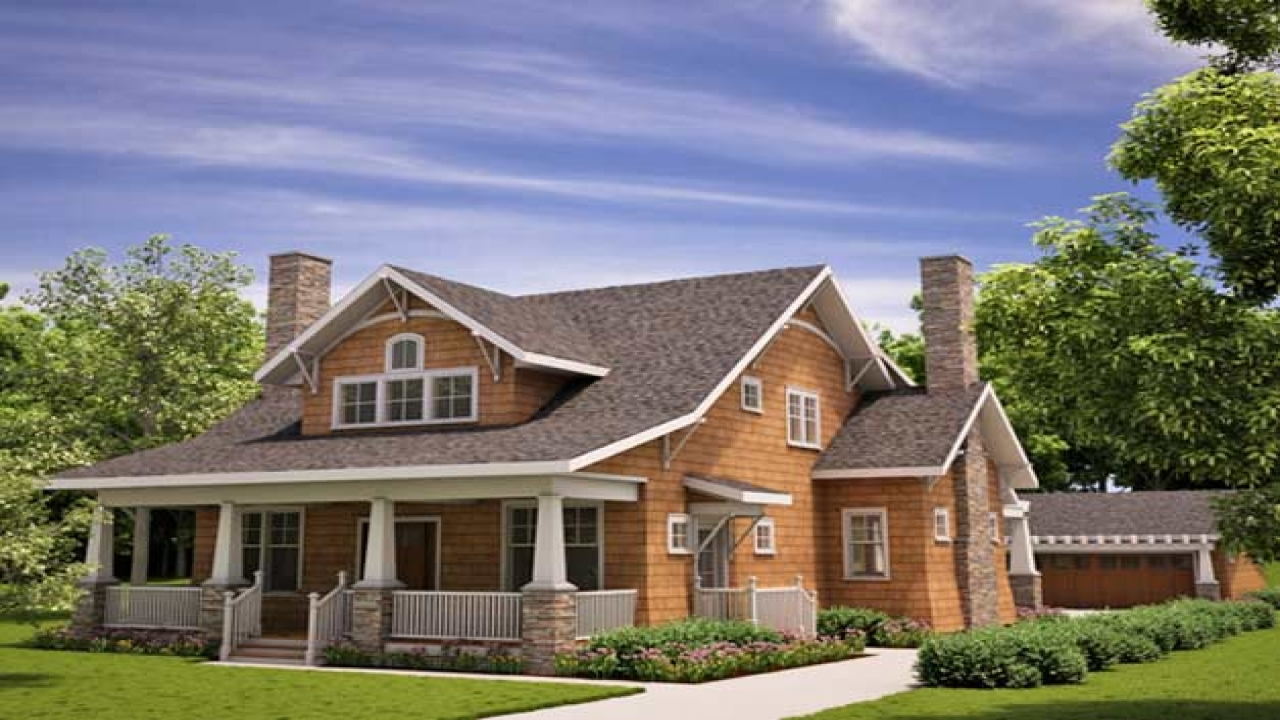 Arts and crafts bungalow house plans arts and crafts for Arts and crafts garage plans