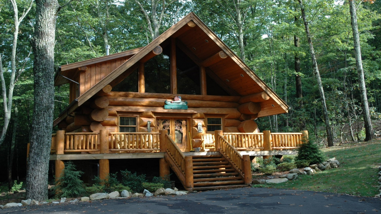 Log cabin interior design log cabin interior styles best for Cabin house plans with photos