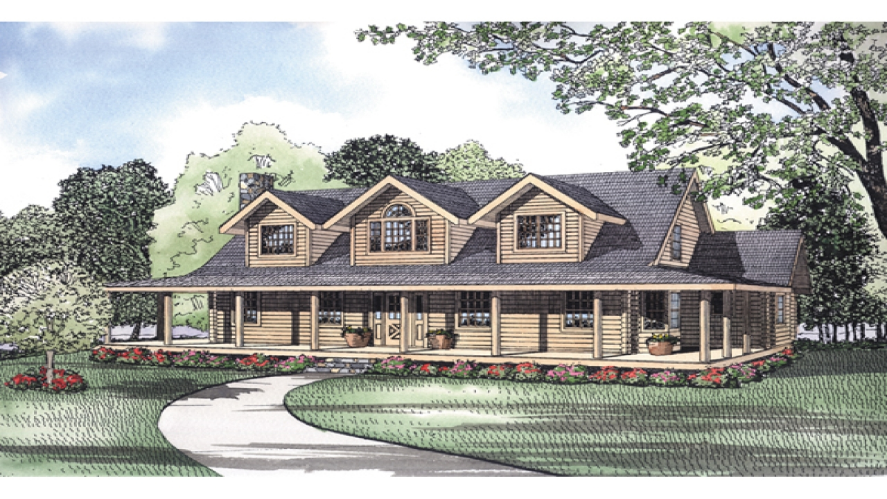 Rustic Home Plans Wrap Around Porches