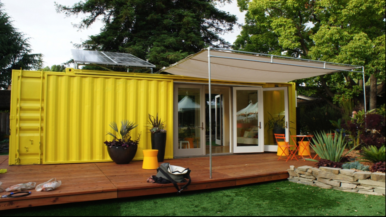 Shipping container tiny house on wheels shipping container for Pre made house plans