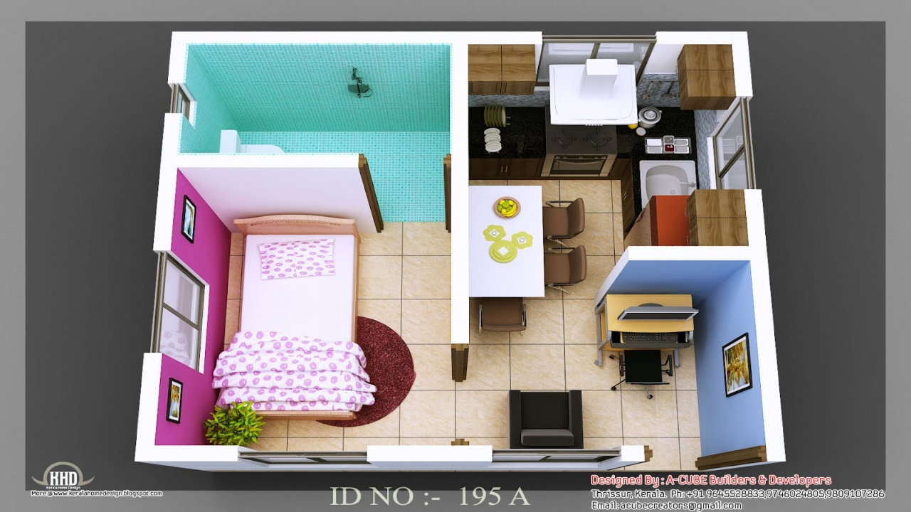 Simple small house design interior design small house for Simple interior designs for small house
