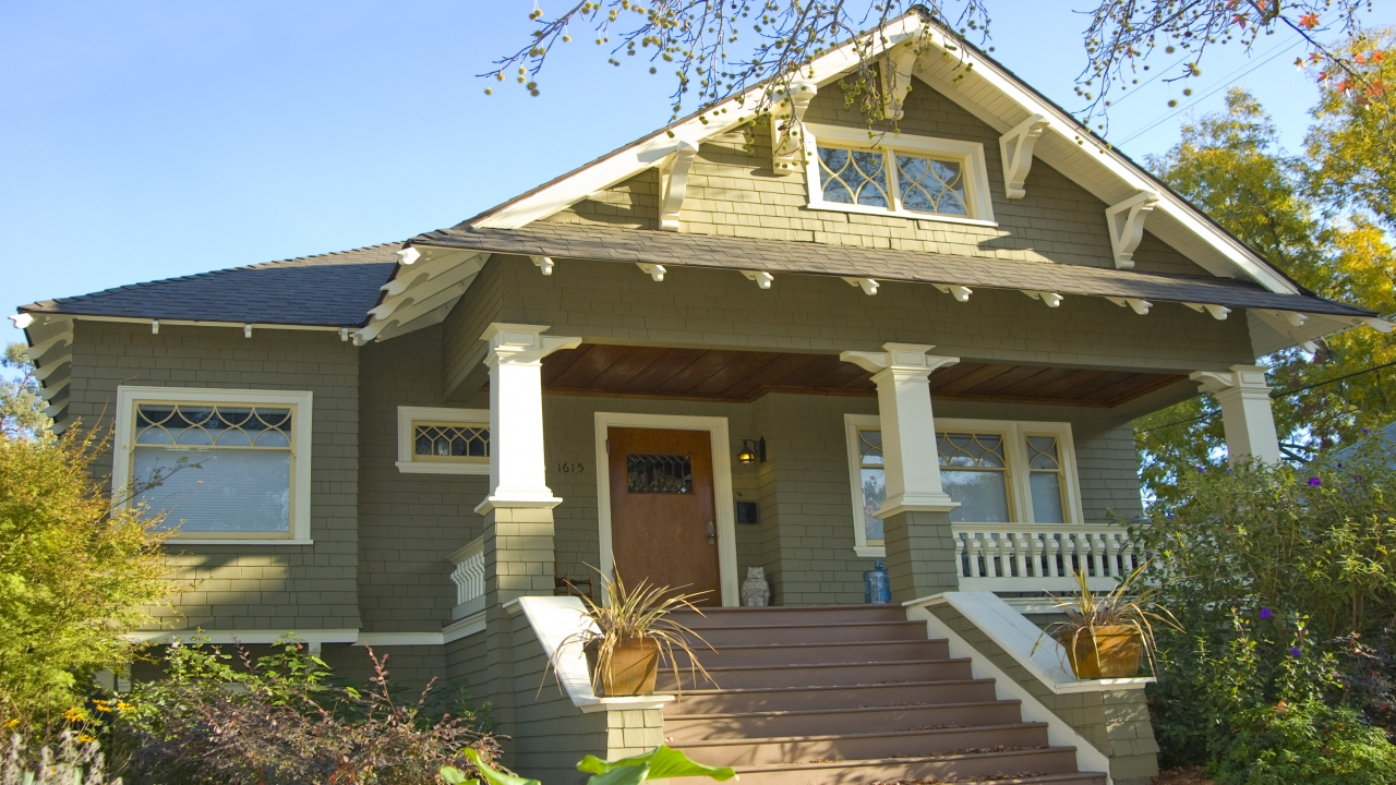 Craftsman style bungalow craftsman homes bungalows - What is a bungalow style home ...