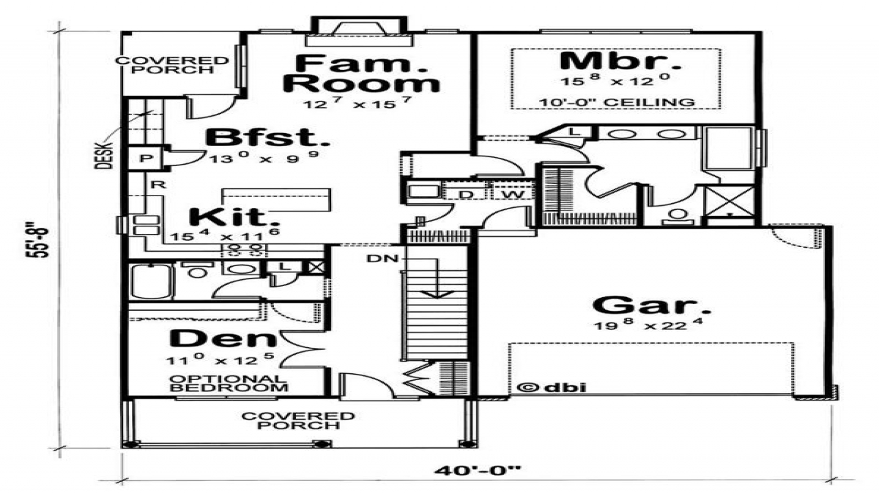 Transitional ranch homes small transitional house plans for Transitional home plans