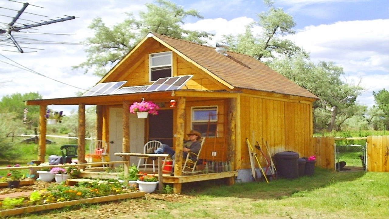 Tiny Home Designs: Off-Grid Solar House Plans Off Grid Solarcabin, Simple