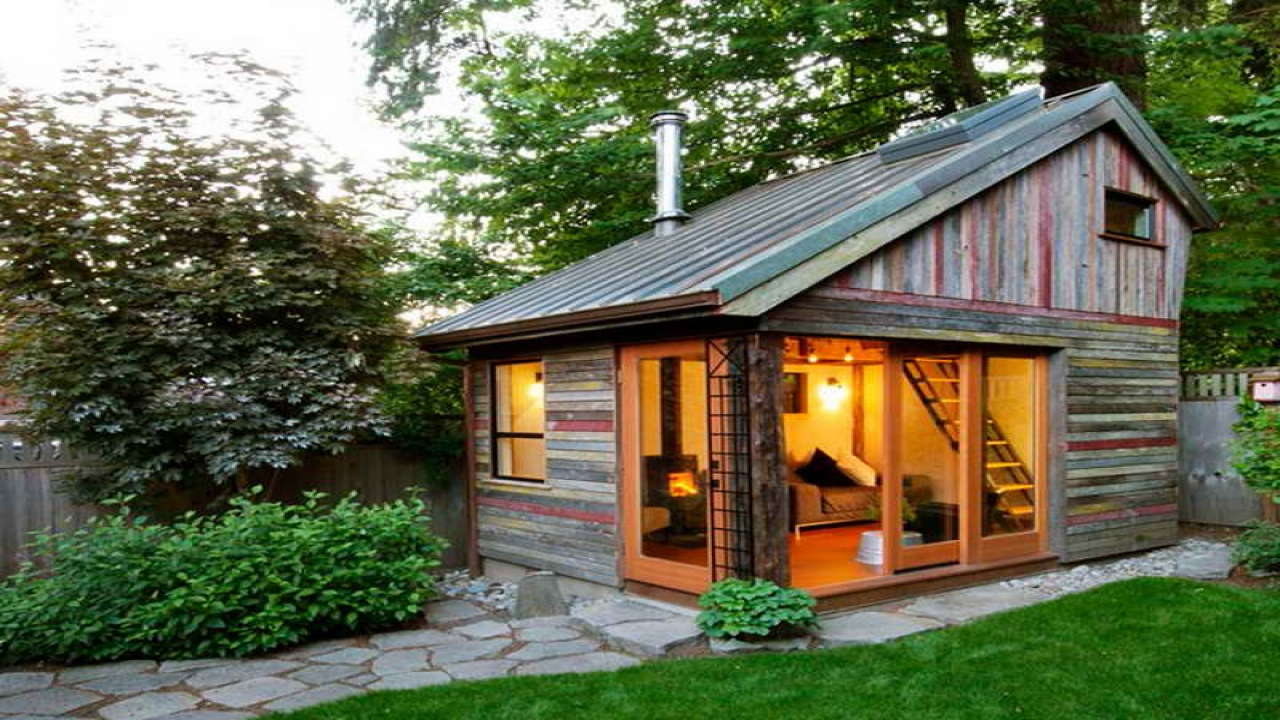 Prefab Backyard Cottage Back Yard Guest House, rustic home ... on Cottage Yard Ideas id=70031