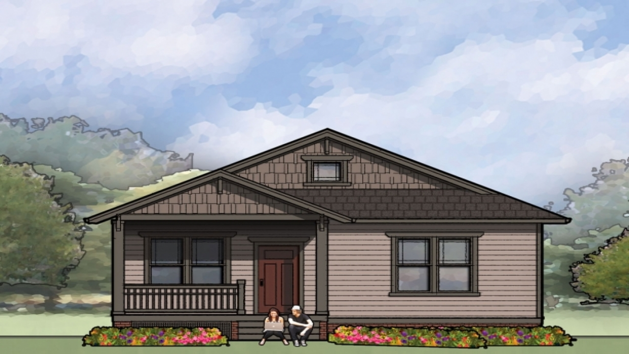 Rural single story bungalow single story bungalow house for 1 story bungalow house plans