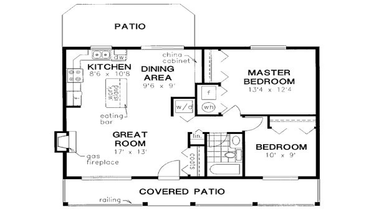 900 Square Feet House Floor Plans 900 Square Feet Apartment House Plans Under 800 Square Feet