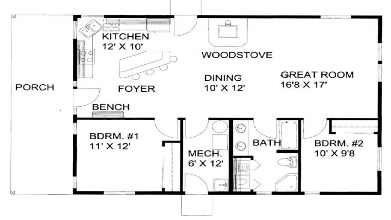 1200 square foot house exterior 1200 square foot house for 1200 sq ft floor plans
