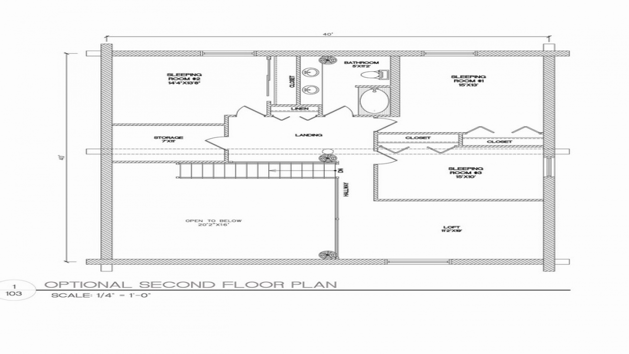 40x40 House Floor Plans 40x60 House Floor Plans 40x40 House Plans Treesranch Com