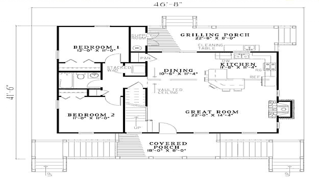 3 bedroom beach house floor plan beach house guest for 3 bedroom beach house plans