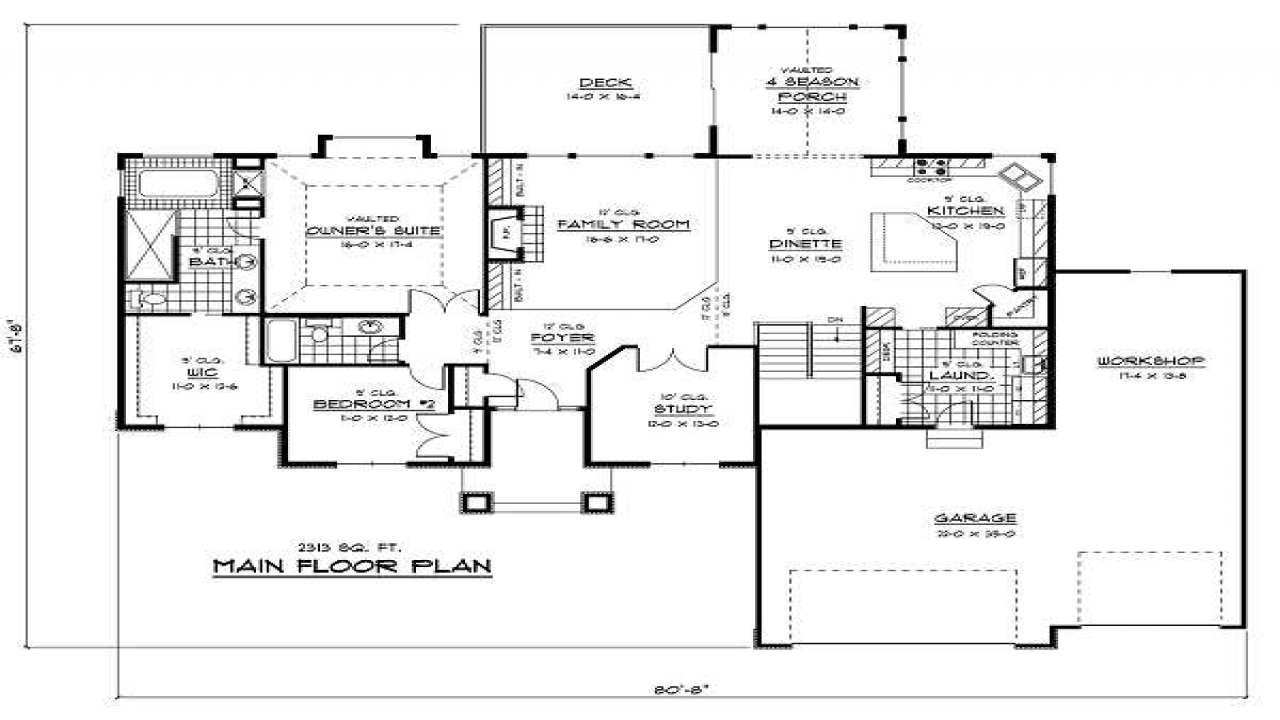 House blueprints examples 1 story house blueprints funky for Funky house designs