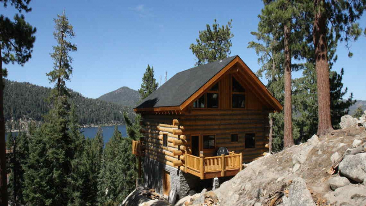 Cheap Cabins To Build Yourself Inexpensive Small Cabin: Log Cabin Kit Homes 28X40 Discount Log Cabin Kits, Build