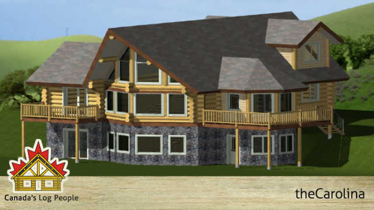 Prow simple log home designs prow front log home house for Prow front house plans