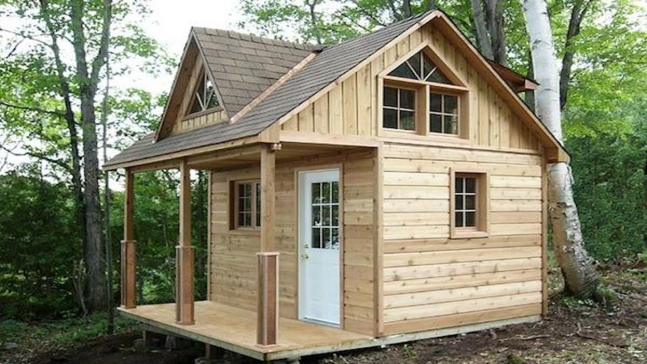 Small cabin plans with loft kits inexpensive small cabin for Cottage cabins to build affordable