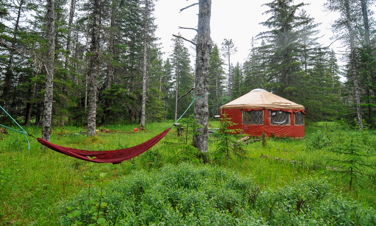 Living off the grid cabin alaska simple living small for Self sufficient cabin kits