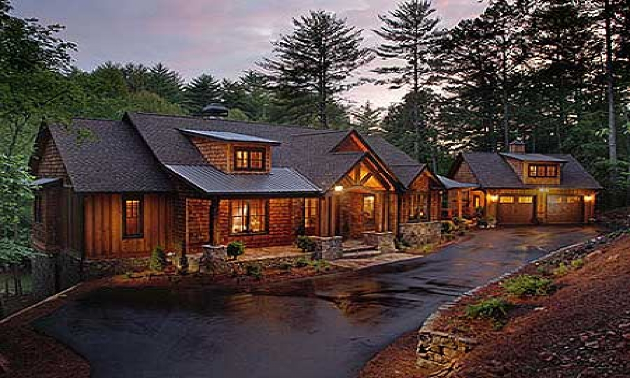 Rustic Luxury Mountain House Plans Rustic Mountain Home ...