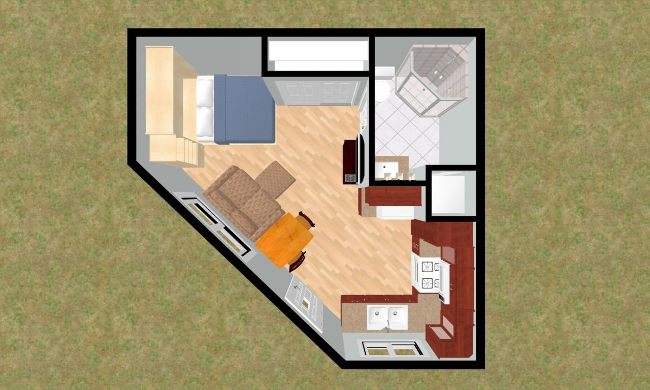 Small House Floor Plans Under 500 Sq Ft Small House Floor